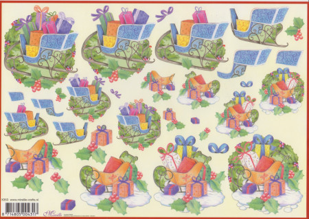 Mireille knipvel kerst nr. X353 (Locatie: 4803)