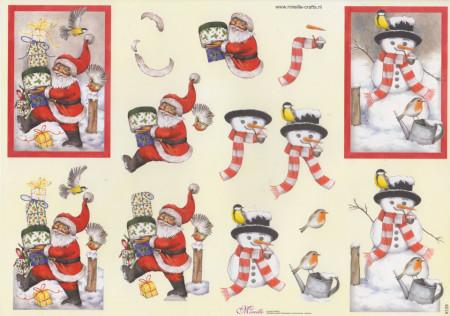 Mireille knipvel kerstmis X129 (Locatie: 1422)