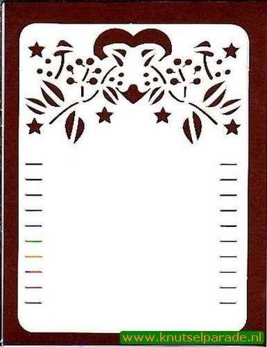 Paper Up oplegkaarten 3 stuks 601032 (Locatie: N030 )