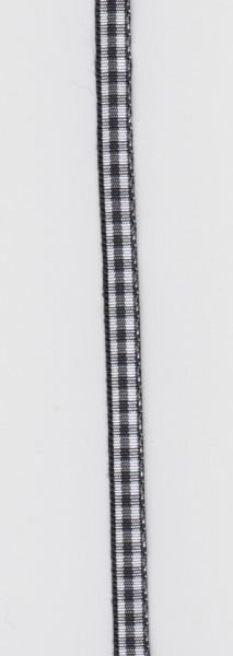 Rayher lint 6,3 mm zwart 10 meter 55 407 01 (Locatie: k3)
