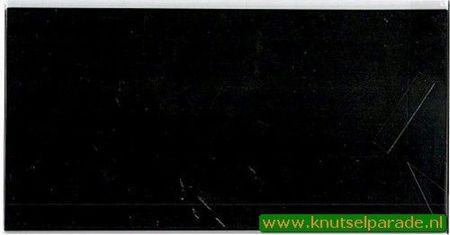 Romak dubbele vierkante kaarten 12,5 cm x 12,5 cm zwart per stuk k2-099-027 (Locatie: D24 )