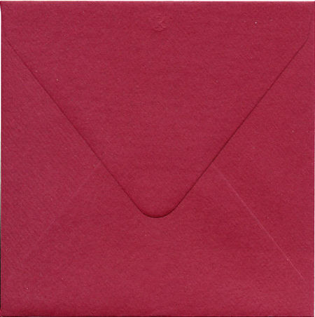Romak luxe envelop vierkant 14x14 aubergine D2 220 26 (Locatie: M115 )