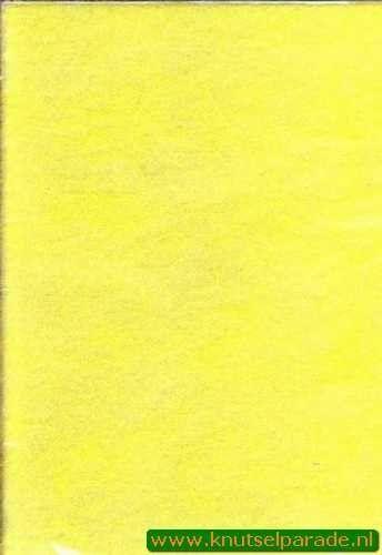 Spinnenweb papier geel A4 29995/10 (Locatie: 6332)