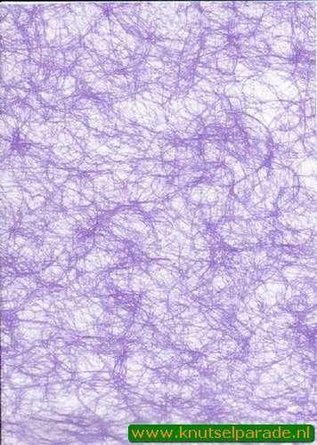 Spinnenweb papier lila A4 29995/05 (Locatie: 6336)
