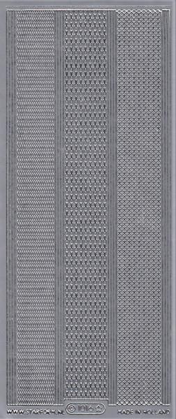 Starform stickervel randjes zilver 1016 (Locatie: ZZ103 )