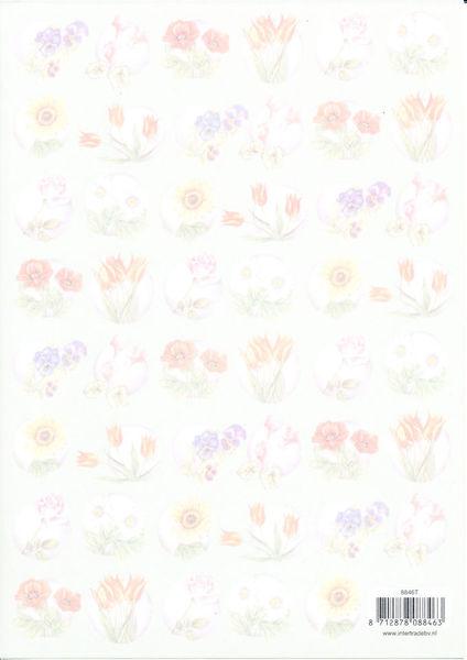 Vellum bloemen 8846T (Locatie: 2703)