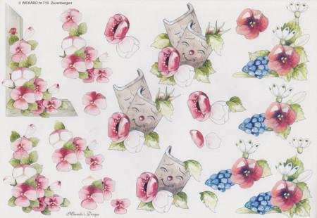 Wekabo knipvel bloemen nr. 715 (Locatie: 2640)