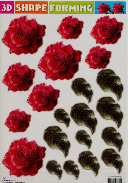 3D Shape Forming bloemen 3Dshapeforms38 (Locatie: 2353)