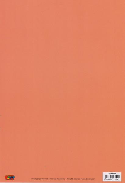 Doodey rood papier, A4, DV94009 (Locatie: 0132)