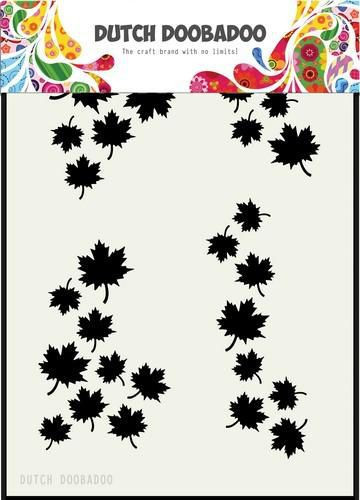 Dutch Doobadoo Mask Art Autumn Leaves stencil A5 470.715.130 (Locatie: 1126)