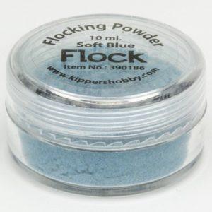 Flocking Powder Soft Blue 390186