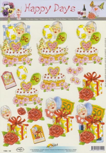Happy Days knipvel sarah 11053-122 (Locatie: 4746)