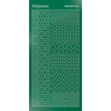 Hobbydots stickervel glanzend groen STDM122 (Locatie: N260 )