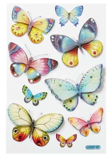 Hobbyfun 3D sticker vlinder (Locatie: 4213)