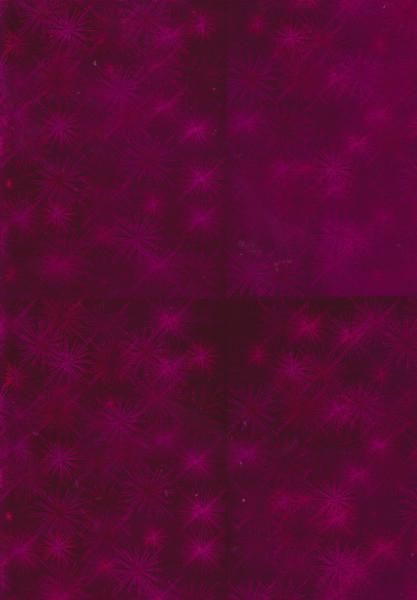Holografisch karton A4 roze (Locatie: 0726)