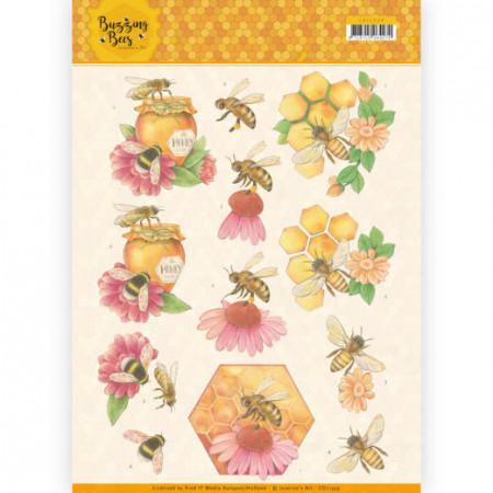Jeanine's Art knipvel bijen CD11339 (Locatie: 4618)