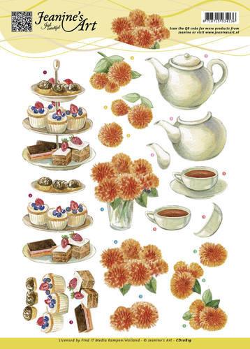 Jeanine's Art knipvel High Tea CD10819 (Locatie: 1576)