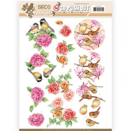 Jeanine's Art stansvel Birds & Flowers SB10320 (Locatie: 0134)