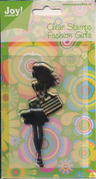 Joy! Crafts Clear stamps Fashion Girls 6410/0089 (Locatie: D125)