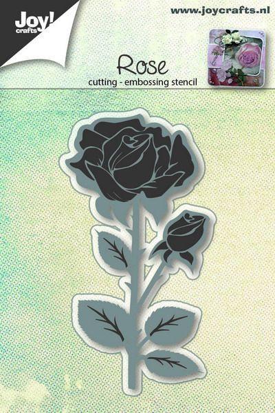 Joy! Crafts snij- en embosmal Rose 6002/0648 (Locatie: n06)