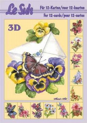 Le Suh Boekje A5 Vlinders nr. 345602 (Locatie: 1RC4)