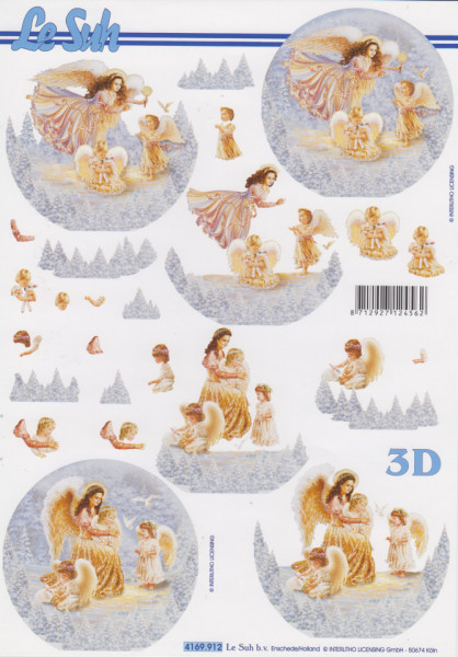Le Suh kerst knipvel 4169912 (Locatie: 2535)