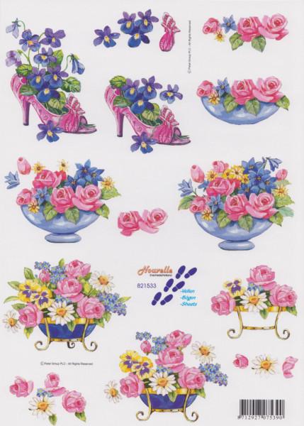 Le Suh knipvel bloemen 821533 (Locatie: 1522)