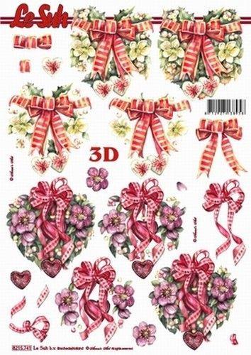 Le Suh knipvel kerst bloemenharten 8215741 (Locatie: 2795)