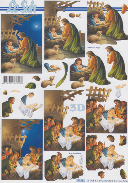 Le Suh knipvel kerstmis 777481 (Locatie: 2760)