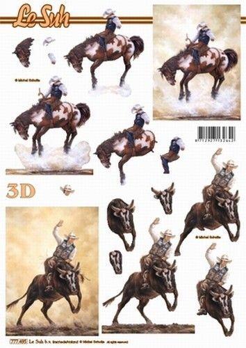Le Suh knipvel paarden 777495 (Locatie: 2910)