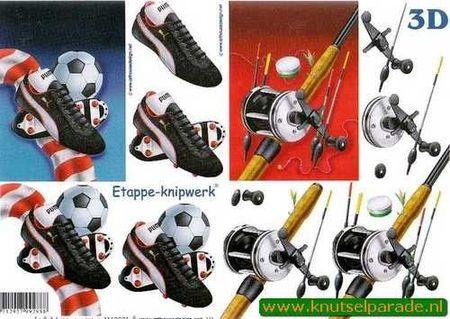 Le Suh knipvel voetbal / vissen 4169271 (Locatie: 5522)