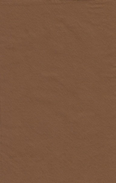 Le Suh vilt-lapje bruin 20x30 cm 180365 (Locatie: 0222)