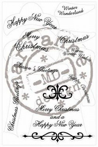 Marianne Design Clear stamp christmas wishes CS 0862 (Locatie: C324 )