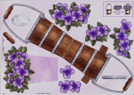 Mireille knipvel bloemenemmer 044 (Locatie: 1468)