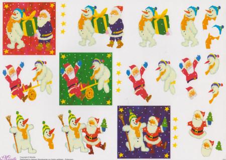 Mireille knipvel kerstman 5021 (Locatie: 5526)