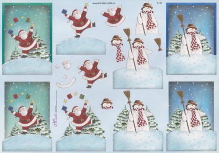 Mireille knipvel kerstmis X131 (Locatie: 6252)