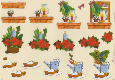 Mireille knipvel kerstmis X22 (Locatie: 1422)