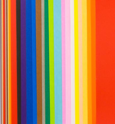 Origami Papier, 100 vellen, 20 kleuren, 117x117mm