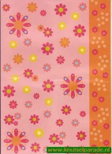 Pergamano vellum bloemen nr. 61773 (Locatie: 1733)