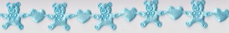 Rayher lint blauw 1,5 mm 5 meter nr. 51 588 08 (Locatie: 4RT2 )
