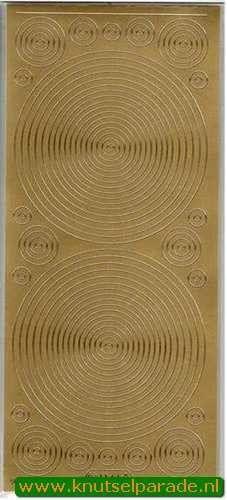 Starform sticker cirkels goud 1144 (Locatie: G030)