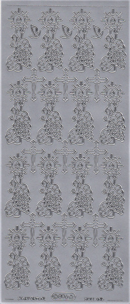 Starform stickervel religie zilver 896 (Locatie: r029)