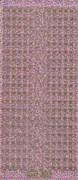 Stickervel holografisch roze XP6564 (Locatie: G210)