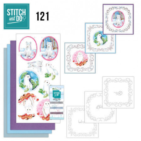 Stitch and Do 121 Winter Friends STDO121