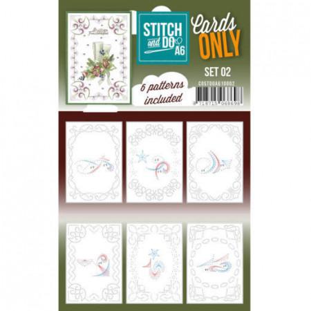 Stitch and Do A6 kaartenset 02 COSTDOA610002