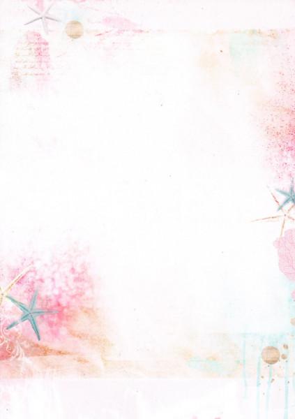 Studio Light achtergrondpapier dubbelzijdig bedrukt Romantic Summer BASISRS221 (Locatie: 2316)