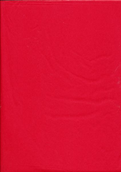 Tissuepapier rood 50 x 70 cm per vel