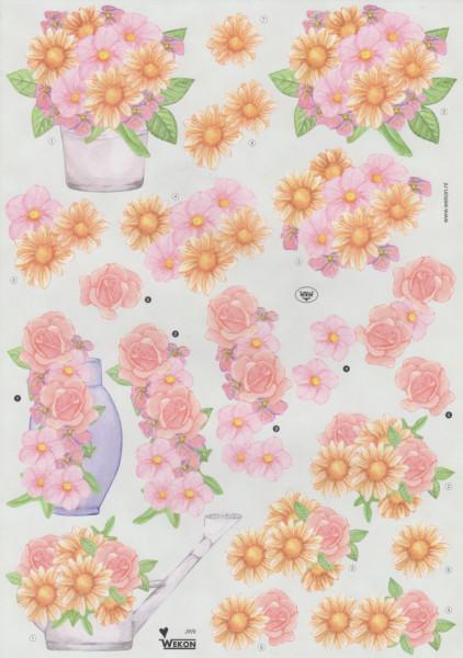 Wekon knipvel bloemen JW9 (Locatie: 0941)