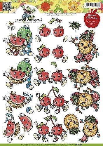 Yvonne Creations knipvel fruit CD10475 (Locatie: 4432)