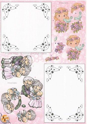 Yvonne Creations knipvel hobby dots 6 (Locatie: 2920)